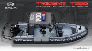 TRIDENT Law Enforcement RIB T650